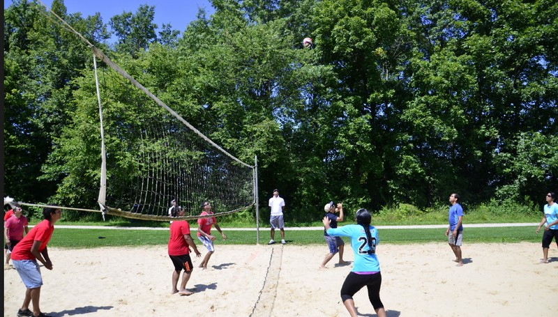 06 picnic volleyball
