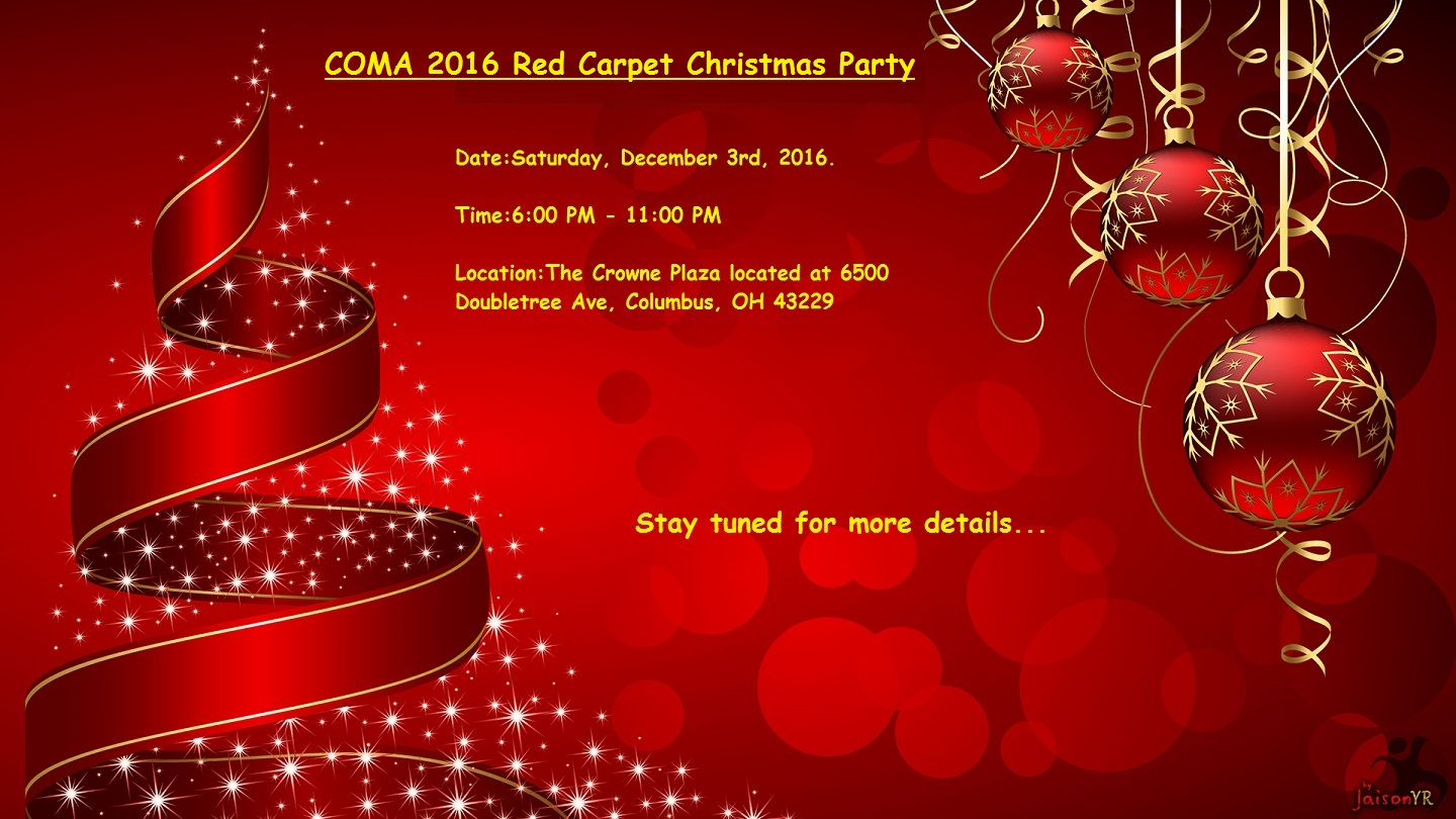 Coma Newsletter October 2016 Central Ohio Malayalee Association
