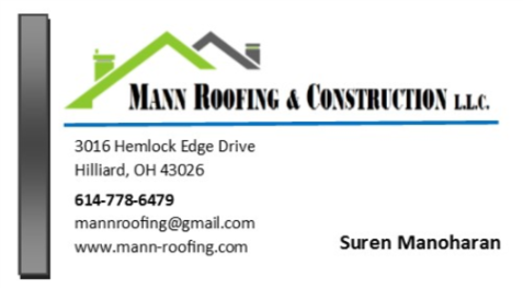Mann Roofing & Contruction